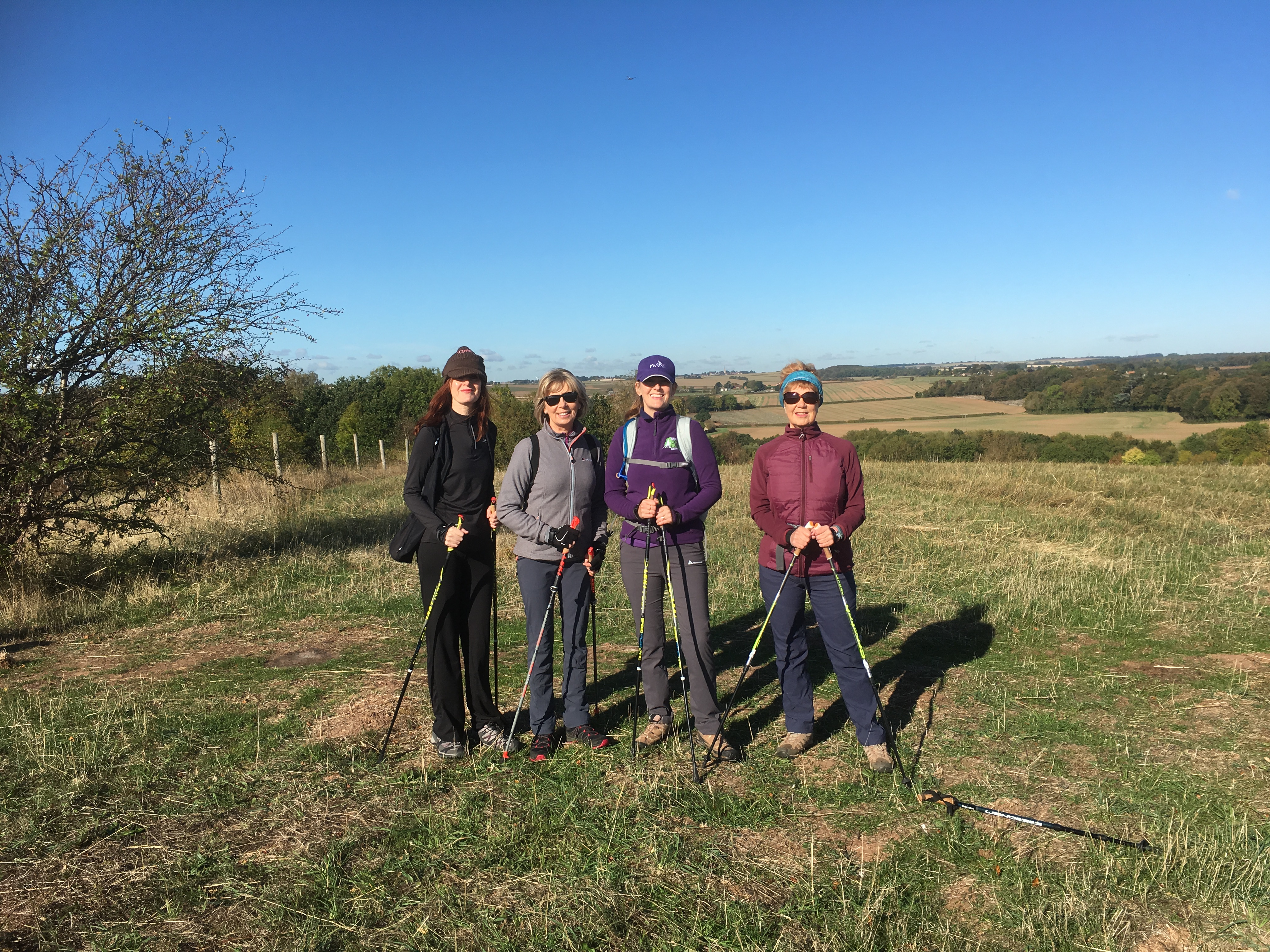 LEARN TO<br>NORDIC WALK